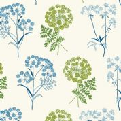 Inprint Chelsea Physic Garden - 4048 - Cowslip - White - 8950 Q30 - Cotton Fabric